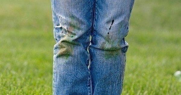 Пятна от травы
