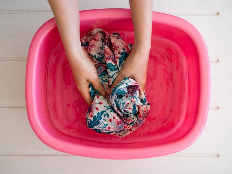 Одежда в воде