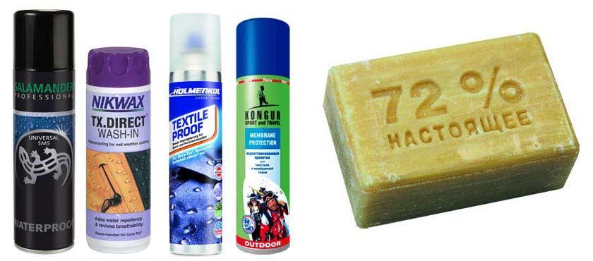 Моющие средства и мыло