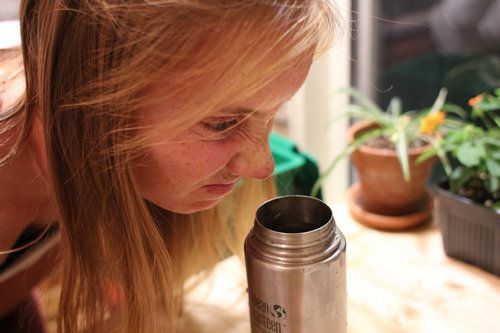 Термос с запахом
