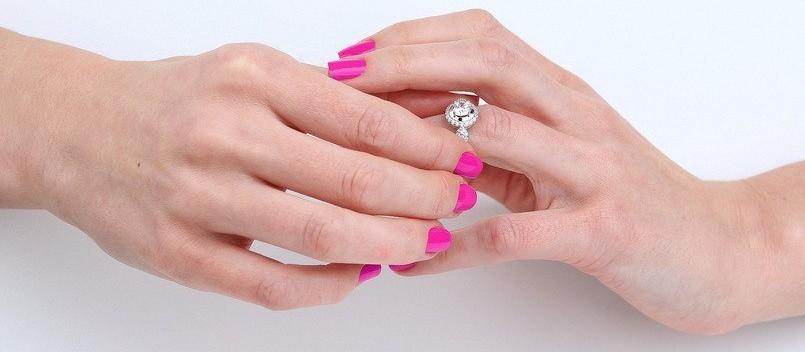 Примерка кольца