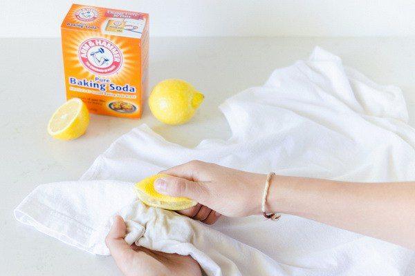 Чистка с помощью лимона