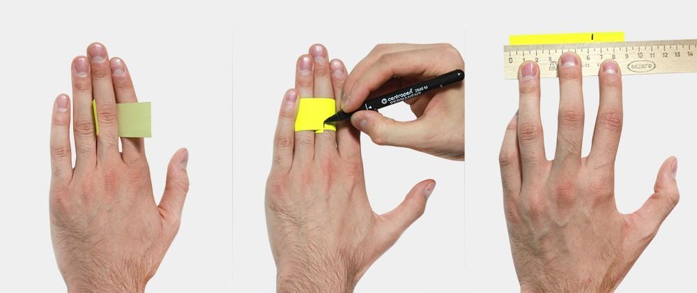 Измерение размер пальца