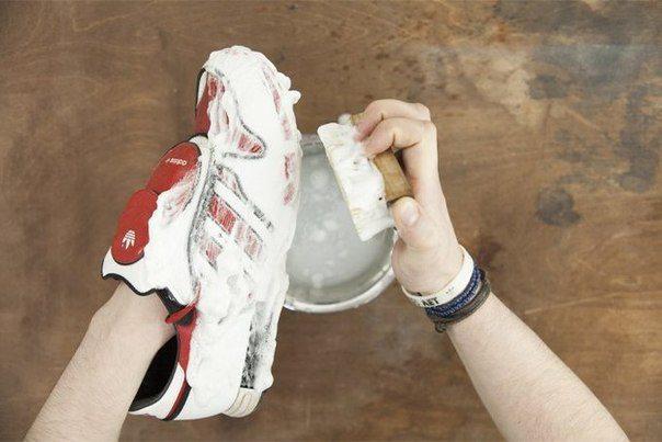 Очистка кроссовок
