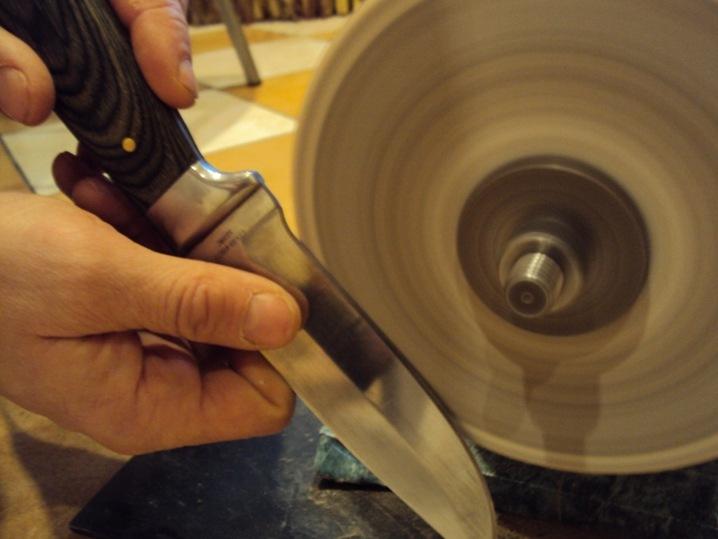 Точим нож в домашних условиях