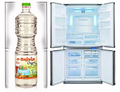 Эффективная очистка холодильника уксусом