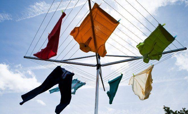 Проветривание одежды в качестве профилактики от запаха пота