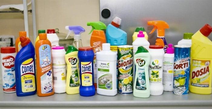 Специализированные химические средства для очистки