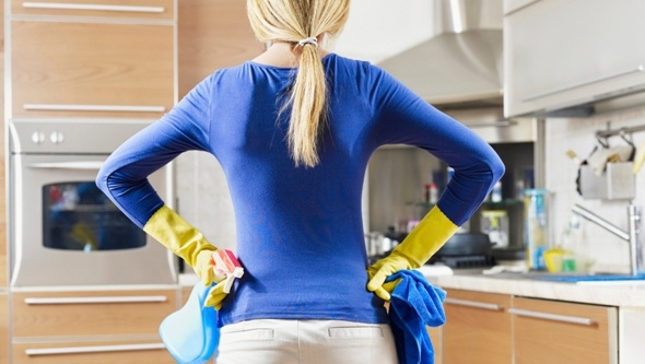 С чего начать очистку плиты