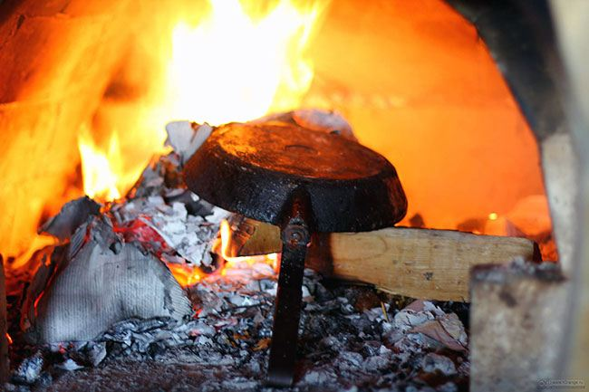 Избавляемся от нагара с помощью огня