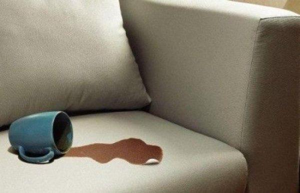 Выводим пятна кофе или чая с мебели
