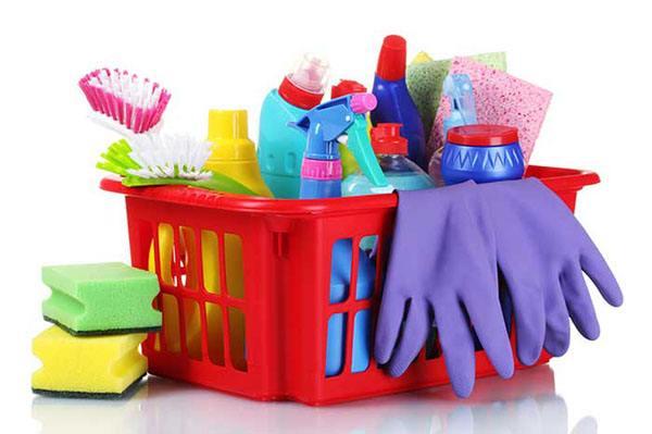 Бытовая химия в качестве средства для чистки стиральной машинки