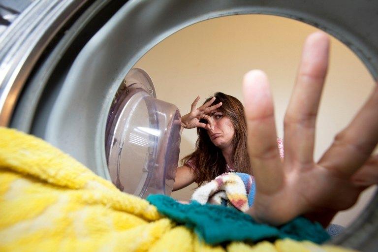 Удалить запах из стиральной машины