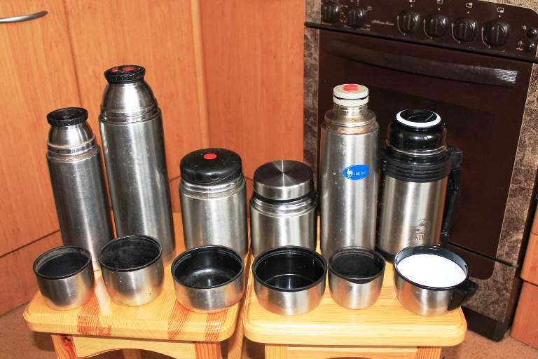 Методы и способы очистки термоса внутри
