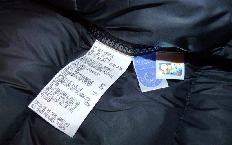 При какой температуре стирать куртку на синтепоне