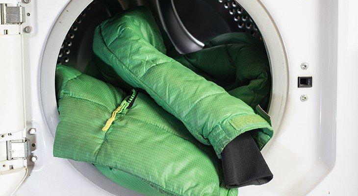 Стирка куртки в стиралке