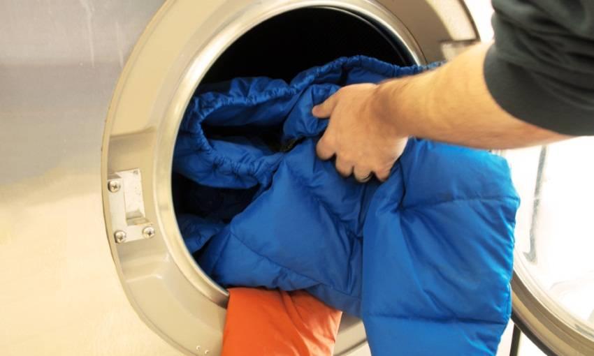 Правильная стирка курток из полиэстера