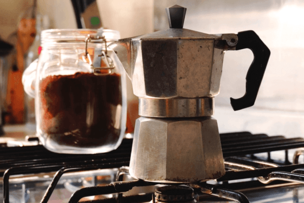 Механическая гейзерная кофеварка