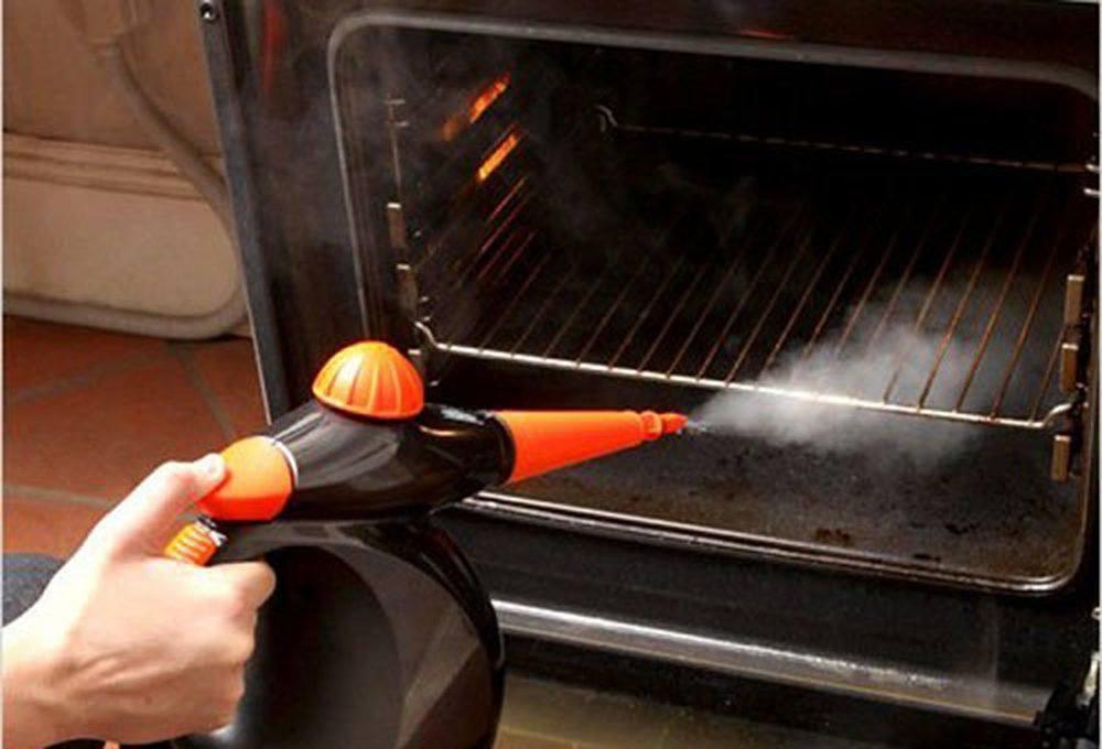 Очистка духовки паром под давлением