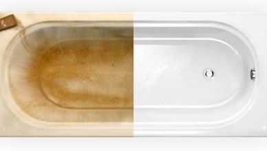 Отбелить ванну в домашних условиях