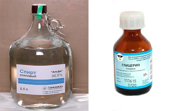 Как сделать глицерин из спирта 493