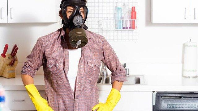 Избавление от неприятных запахов на кухне