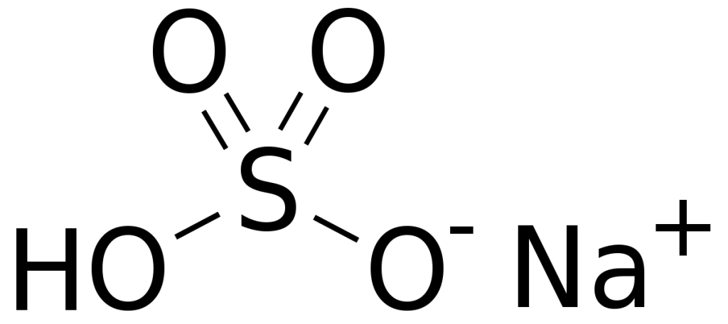 Гидросульфат натрия — кислая соль натрия и серной кислоты с формулой NaHSO₄