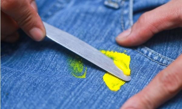 Чистка ножом