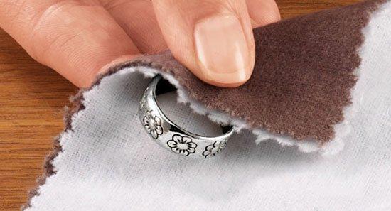 Протирание кольца