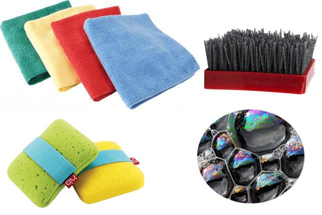 Нужные вещи для чистки подоконника