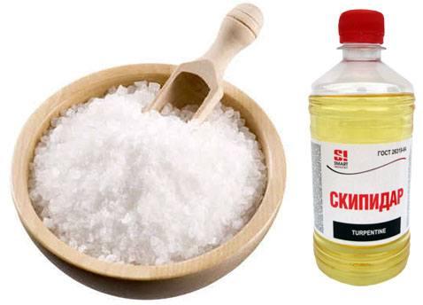 Соль и скипидар