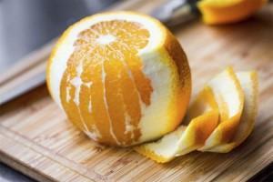 Чищенный апельсин