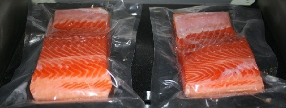 Рыба в герметичной упаковке