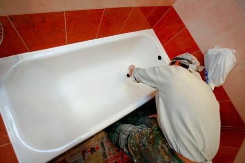 Обработка ванны
