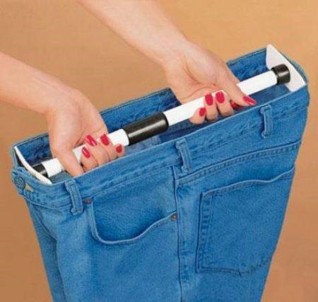 Расширение джинс