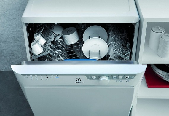 Посуда в машинке
