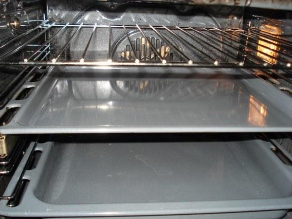 Чистая духовка