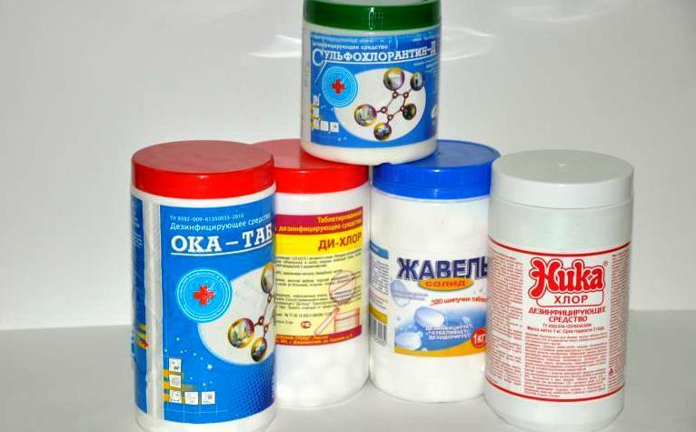 Хлорсодержащие средства для стирки