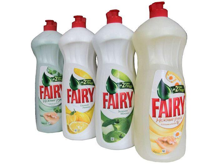 Фэйри — средство для мытья посуды