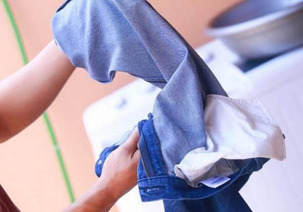 Выворачиваем джинсы на изнанку