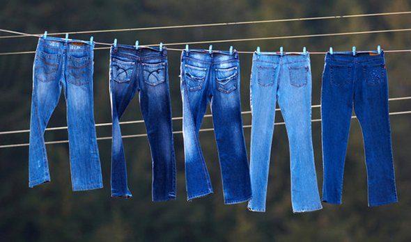 Как правильно сушить джинсы после стирки