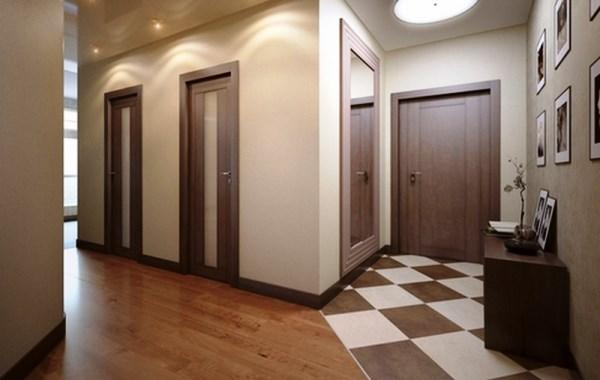Ламинат в интерьере помещения