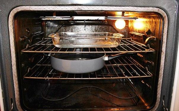 Активированный уголь кипятим в духовке для вывода запаха после очистки