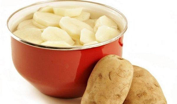 Отвар картофеля