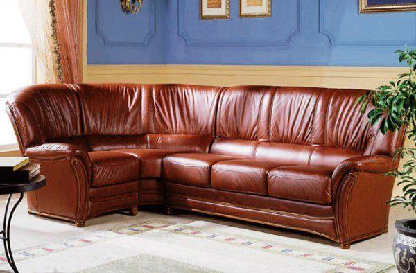 Мебель из кожы